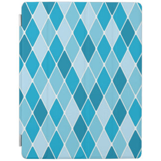 Harlequin winter pattern iPad cover