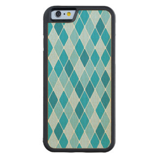 Harlequin winter pattern maple iPhone 6 bumper case