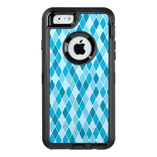 Harlequin winter pattern OtterBox iPhone 6/6s case