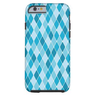 Harlequin winter pattern tough iPhone 6 case