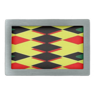 Harlequin Yellow Jokers Deck Belt Buckle