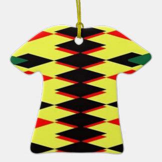 Harlequin Yellow Jokers Deck Ceramic T-Shirt Decoration