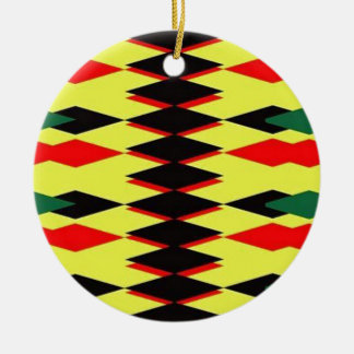 Harlequin Yellow Jokers Deck Christmas Ornaments
