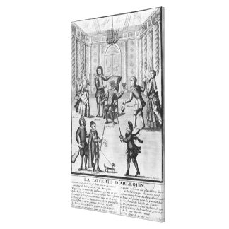Harlequin's Lottery Canvas Print