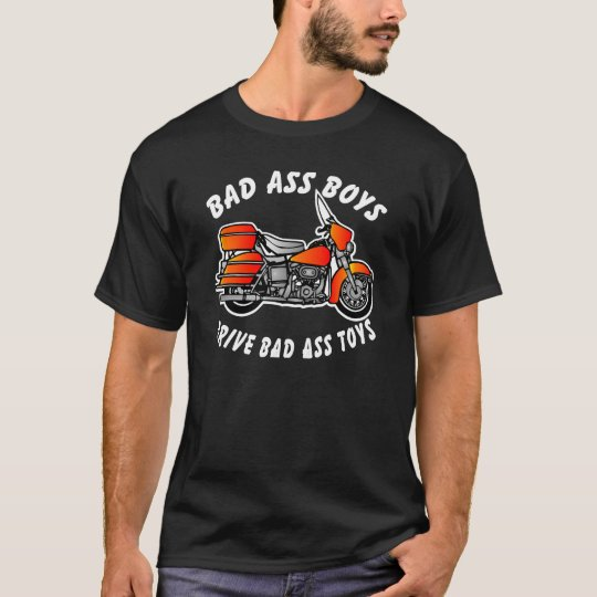 Harley Bad Ass Boys Black T-Shirt