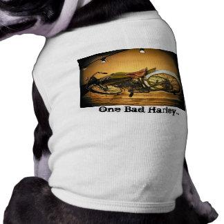 Harley Bike Vintage Sleeveless Dog Shirt