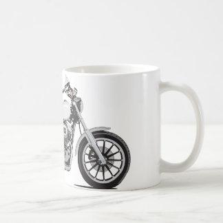 Harley Davidson Basic White Mug