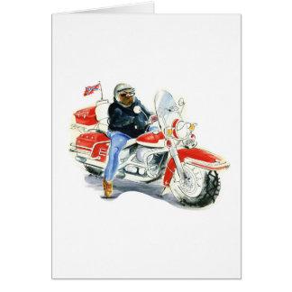 Harley Davidson Biker Card