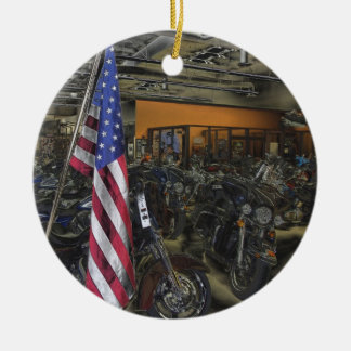 Harley Davidson Christmas Ornament