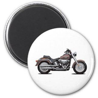 Harley Davidson Fat Boy 6 Cm Round Magnet