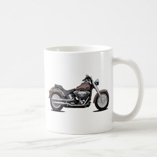 Harley Davidson Fat Boy Basic White Mug