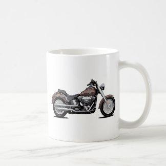 Harley Davidson Fat Boy Classic White Coffee Mug