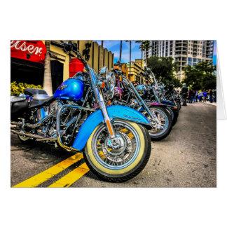 Harley Davidson Motorcycles Card