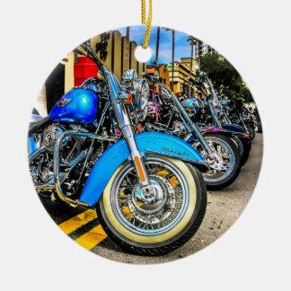 Harley Davidson Motorcycles Christmas Ornament