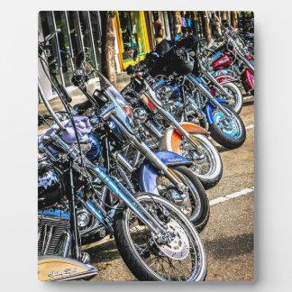 Harley Davidson Motorcycles Display Plaque