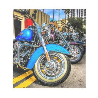 Harley Davidson Motorcycles Notepad