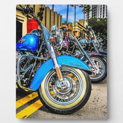 Harley Davidson Motorcycles Display Plaques