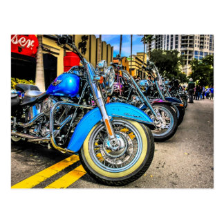 Harley Davidson Motorcycles Postcard