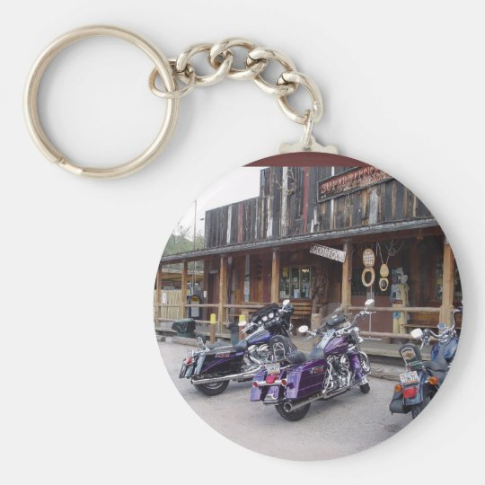 Harley Davidson Motorcycles Western Saloon Key Ring