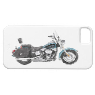 Harley FLSTC Heritage Softail Hand Painted Brush iPhone 5 Case