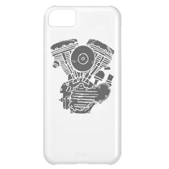 Harley Panhead Motor Drawing iPhone 5C Case