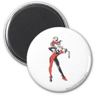 Harley Quinn 4 Magnet