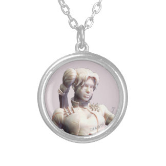 Harley Quinn Alternate 2 Silver Plated Necklace