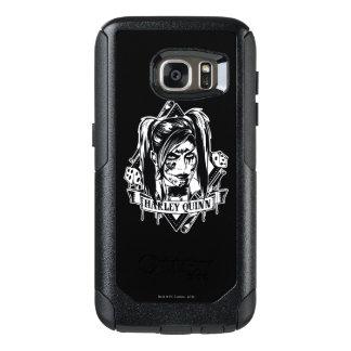 Harley Quinn Badge OtterBox Samsung Galaxy S7 Case