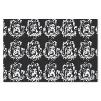 Harley Quinn Badge Tissue Paper
