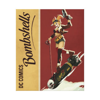 Harley Quinn Bombshell Gallery Wrapped Canvas