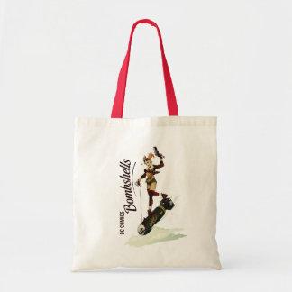 Harley Quinn Bombshell Tote Bags