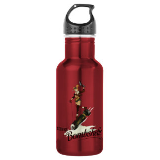 Harley Quinn Bombshells Pinup 532 Ml Water Bottle
