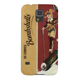 Harley Quinn Bombshells Pinup Cases For Galaxy S5