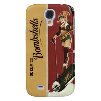Harley Quinn Bombshells Pinup Galaxy S4 Case