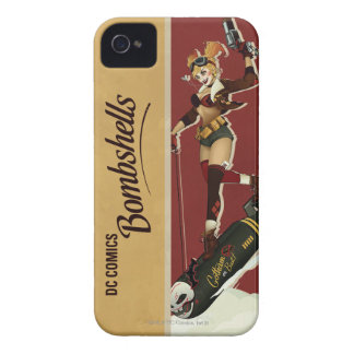 Harley Quinn Bombshells Pinup iPhone 4 Case