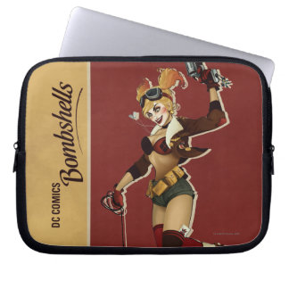 Harley Quinn Bombshells Pinup Laptop Sleeve