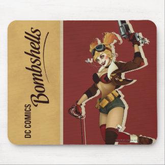 Harley Quinn Bombshells Pinup Mouse Mat