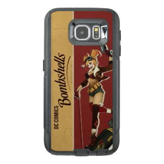 Harley Quinn Bombshells Pinup OtterBox Samsung Galaxy S6 Case