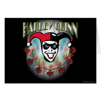 Harley Quinn - Face and Logo Card
