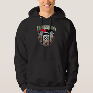 Harley Quinn - Face and Logo Hoodie
