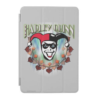 Harley Quinn - Face and Logo iPad Mini Cover