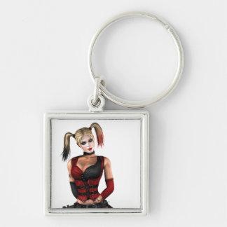 Harley Quinn Key Ring