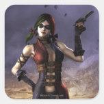Harley Quinn Square Sticker