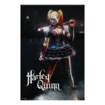 Harley Quinn With Bat Poster
