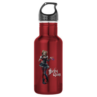Harley Quinn With Fuzzy Dice 532 Ml Water Bottle