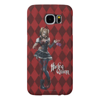 Harley Quinn With Fuzzy Dice Samsung Galaxy S6 Cases