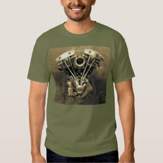 Harley Shovelhead V-Twin Photo #1 Tshirts