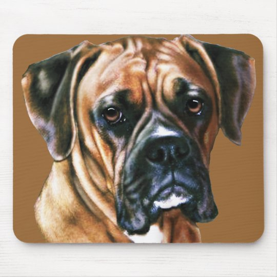 Harley the Boxer Mouse Pad