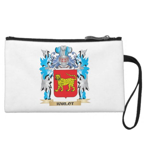 Harlot Coat of Arms - Family Crest Wristlet