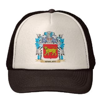 Harlot Coat of Arms - Family Crest Trucker Hat
